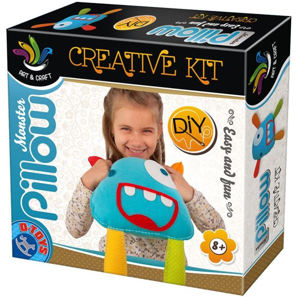 Joc creativ D-Toys, Set de Creat Perna Decorativa